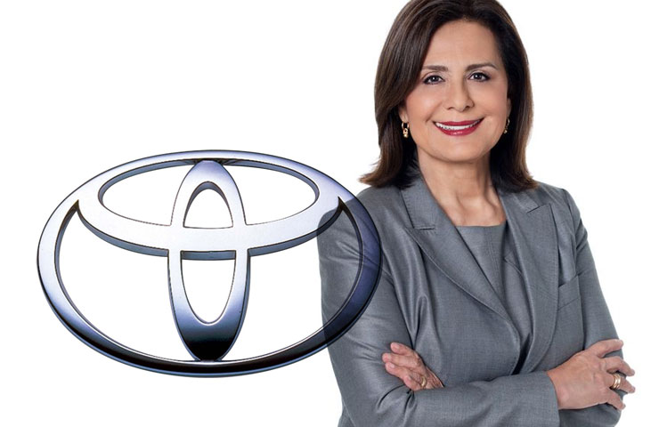 Patricia Pineda from Toyota, the first in a series of articles for HipLatina, highlighting inspiring and accomplished Latinas. Here is the first of a two part series. Disfruten!