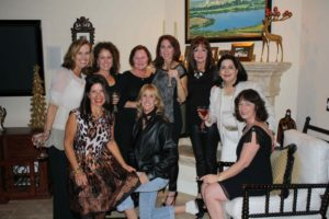 The ladies at Pete's 60th